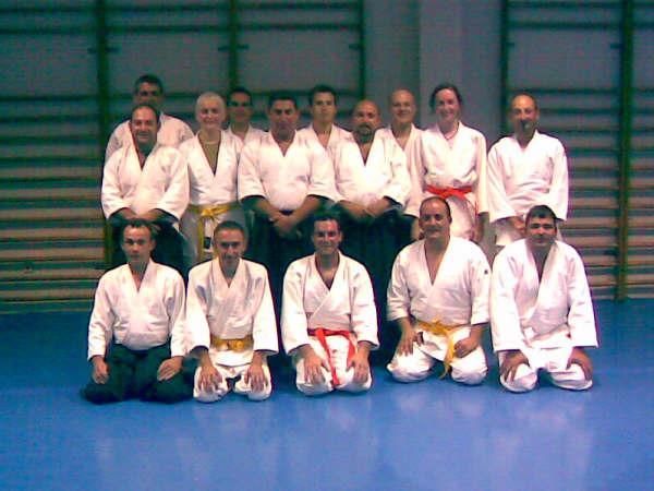 CINCO ALUMNOS DEL CLUB DE AIKIDO SUPERAN LOS EX�MENES PARA CINTO AMARILLO Y NARANJA. (2008), Foto 1