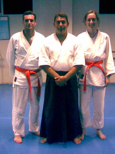 CINCO ALUMNOS DEL CLUB DE AIKIDO SUPERAN LOS EX�MENES PARA CINTO AMARILLO Y NARANJA. (2008), Foto 2