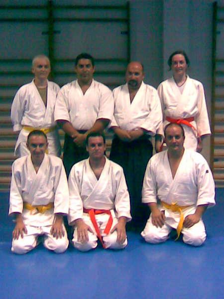 CINCO ALUMNOS DEL CLUB DE AIKIDO SUPERAN LOS EX�MENES PARA CINTO AMARILLO Y NARANJA. (2008), Foto 3