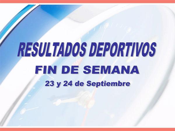 RESULTADO DEPORTIVOS FIN DE SEMANA, Foto 1