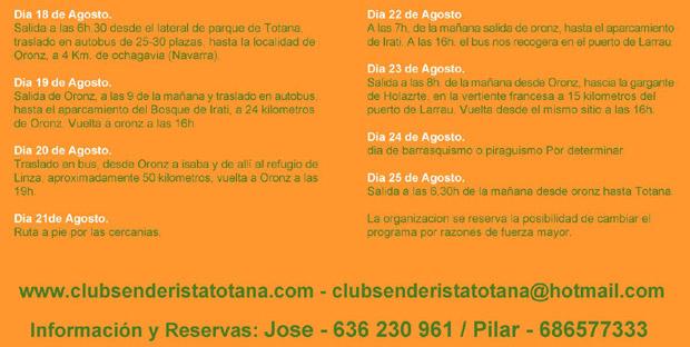 EL CLUB SENDERISTA DE TOTANA POR LOS TECHOS DE LA IBERIA, Foto 2
