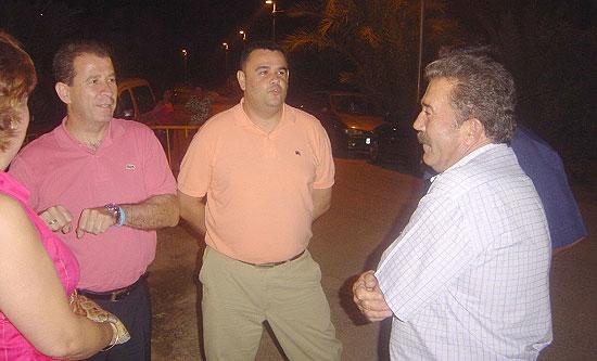 AUTORIDADES MUNICIPALES INAUGURARON UNA NUEVA FASE DE LAS OBRAS DE ALUMBRADO P�BLICO EN EL RAIGUERO BAJO , Foto 2