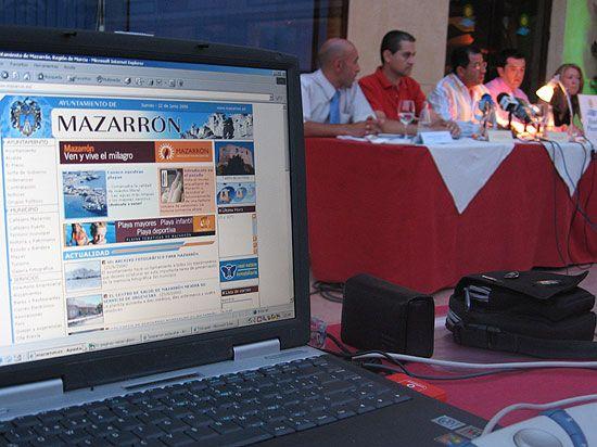 www.mazarron.es ahora en ingl�s, Foto 1