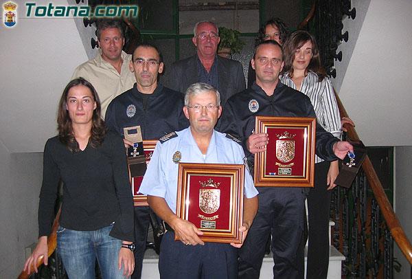 HOMENAJE RECONOCIMIENTO AGENTES POLICÍA LOCAL Y CUERPO DE LA POLICÍA LOCAL , Foto 2