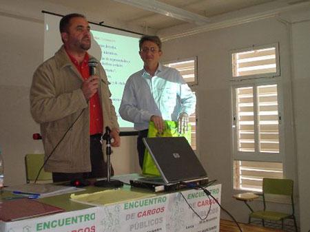 DOSCIENTOS ASISTENTES EN LORCA AL ENCUENTRO DE CARGOS P�BLICOS DE IU, Foto 1