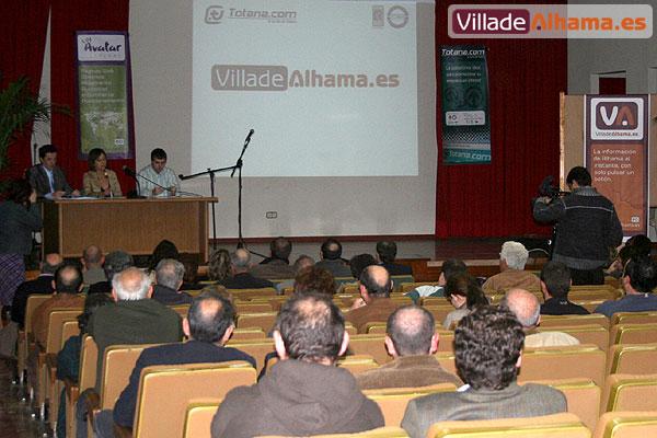 TOTANA.COM PRESENTA SU NUEVO PORTAL PARA ALHAMA DE MURCIA: VILLADEALHAMA.ES, Foto 1