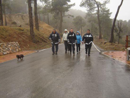 VOLUNTARIOS DE PROTECCIÓN CIVIL HALLAN AL HOMBRE QUE SE PERDIÓ EN SIERRA ESPUÑA, DONDE PASÓ UNA NOCHE A LA INTEMPERIE, Foto 2