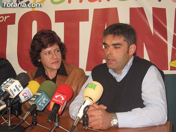 INDEPENDIENTES POR TOTANA CONCURRIR� A LAS ELECCIONES MUNICIPALES DEL PR�XIMO D�A 27 DE MAYO, Foto 3