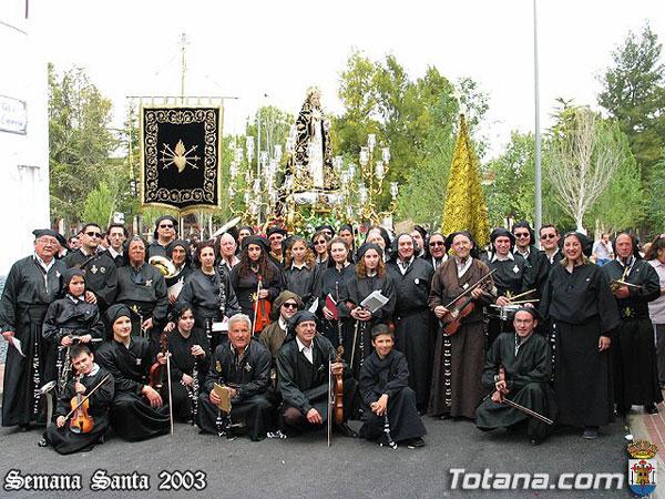 CORONACI�N DE ESPINAS, CONCIERTO SACRO Y  SEDE DE LA COFRAD�A DE JES�S RESUCITADO, Foto 6