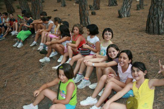 MÁS DE 80 NIÑOS PARTICIPAN EN LOS DOS CAMPAMENTOS DE VERANO, Foto 2