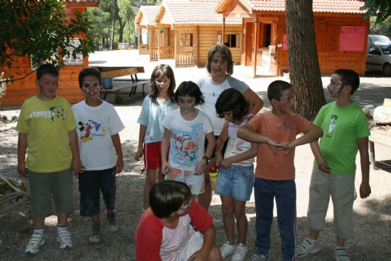 MÁS DE 80 NIÑOS PARTICIPAN EN LOS DOS CAMPAMENTOS DE VERANO, Foto 3