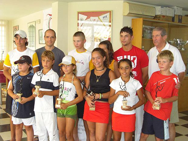 FINALIZA EN EL CLUB TENIS TOTANA EL CIRCUITO SUPER-OL� DE TENIS (2008), Foto 1