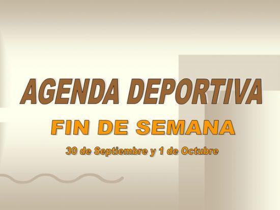 AGENDA DEPORTIVA FIN DE SEMANA, Foto 1