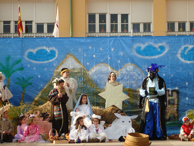 REPRESENTACI�N DE NAVIDAD EN EL COLEGIO SANTA EULALIA, Foto 1