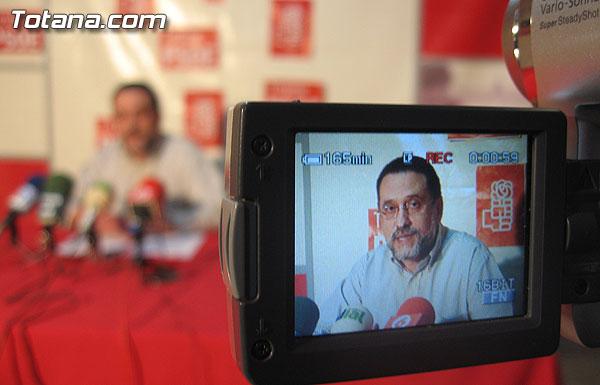EL PSOE OFRECIÓ UNA RUEDA DE PRENSA PARA HACER BALANCE DEL PLENO EXTRAORDINARIO SOBRE EDUCACIÓN., Foto 1