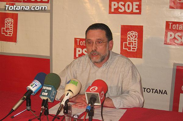 EL PSOE OFRECIÓ UNA RUEDA DE PRENSA PARA HACER BALANCE DEL PLENO EXTRAORDINARIO SOBRE EDUCACIÓN., Foto 2