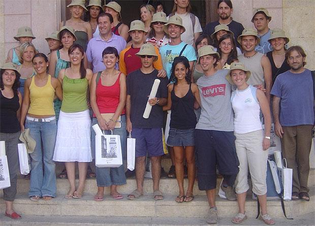 UN TOTAL DE 25 JÓVENES DE ESPAÑA Y EL EXTRANJERO PARTICIPAN EN EL XI CAMPO DE TRABAJO INTERNACIONAL MEDIOAMBIENTAL DE LAS ALQUERÍAS , Foto 1