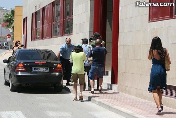 Valverde Reina declar� hoy ante los tribunales imputado como cooperador de un delito de malversaci�n de fondos p�blicos en grado de tentativa, Foto 1