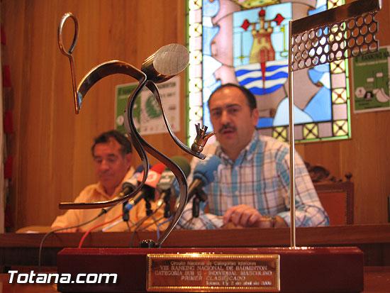 TOTANA ACOGE LOS DÍAS 1 Y 2 DE ABRIL EL VIII RÁNKING NACIONAL DE BÁDMINTON EN CATEGORÍAS SUB-15 Y SUB-17   , Foto 1