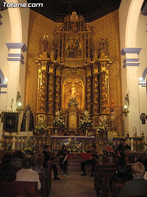 LA IGLESIA DE SANTIAGO ACOGIÓ UN CONCIERTO DE MÚSICA DE CÁMARA DE SINE TEMPORE ENSEMBLE, Foto 1