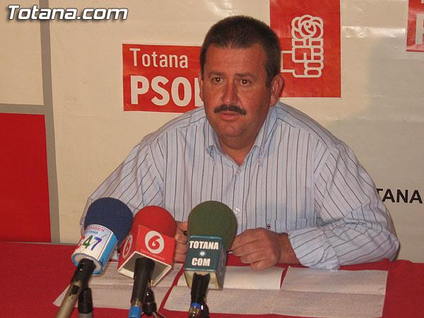 EL PSOE OFRECIÓ UNA RUEDA DE PRENSA PARA HACER BALANCE DEL PLENO ORDINARIO DEL MES DE MARZO, Foto 1