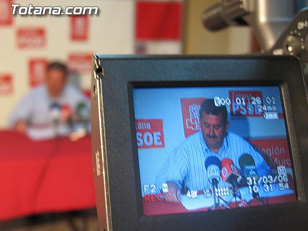 EL PSOE OFRECIÓ UNA RUEDA DE PRENSA PARA HACER BALANCE DEL PLENO ORDINARIO DEL MES DE MARZO, Foto 2