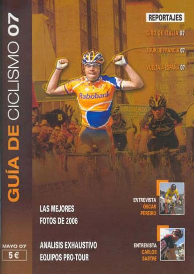 AINARA HERNANDO Y EL TOTANERO ANDRÉS CÁNOVAS PUBLICAN LA GUÍA DE CICLISMO 2007, Foto 2