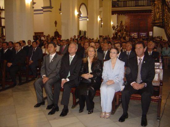 Se inicia la Semana Santa de Totana con el pronunciamiento del solemne preg�n a cargo del presidente regional, Ram�n Luis V�lc�rcel, con el que se abren los actos programados por el Ilustre Cabildo Superior de Procesiones, Foto 2