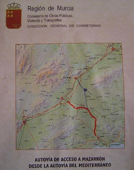 El Ayuntamiento va a habilitar un servicio de información a los vecinos afectados por el proyecto de la autovía Totana-Mazarrón en el propio consistorio y en el Paretón, Foto 1