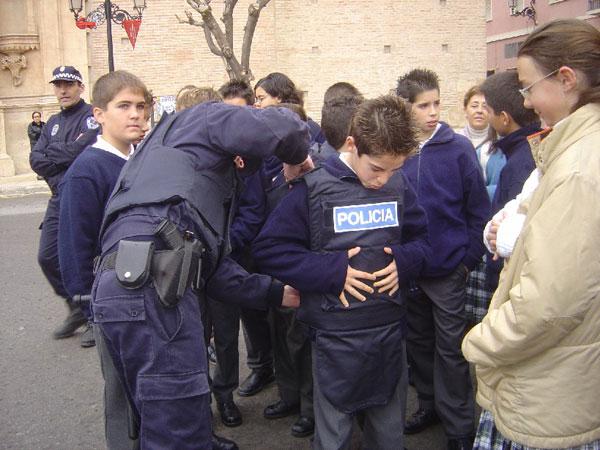 M�s de 200 alumnos de colegios Totana participan jornadas puertas abiertas Polic�a Local , Foto 1