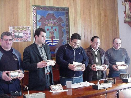 """La Concejalía de Artesanía y Asociación Profesional de Pasteleros realizan una producción conmemorativa de """"Santiaguitos"""" del Año Jubilar de Santa Eulalia, Foto 1"""