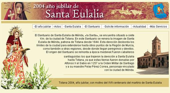 La nueva web del Año Jubilar Eulaliense difundirá las bondades de este acontecimiento religioso, cultural y social en la red como mecanismo de promoción turística, Foto 2