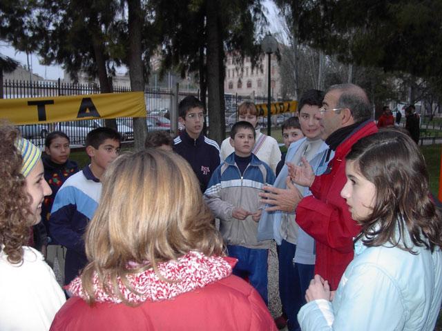 31 ESCOLARES DE TOTANA PARTICIPAN EN LA PRIMERA JORNADA REGIONAL DE ORIENTACION DE DEPORTE ESCOLAR, CELEBRADA EL PASADO DOMINGO 12 DE MARZO EN CEHEGIN - 3