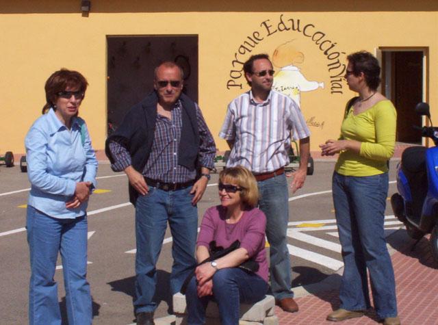LOS COLEGIOS DE El CHIRIVEL Y DE MARIA DE LA VECINA PROVINCIA DE ALMERIA, PRACTICAN SEGURIDAD VIAL EN EL PARQUE DE EDUCACION VIAL DE TOTANA - 5