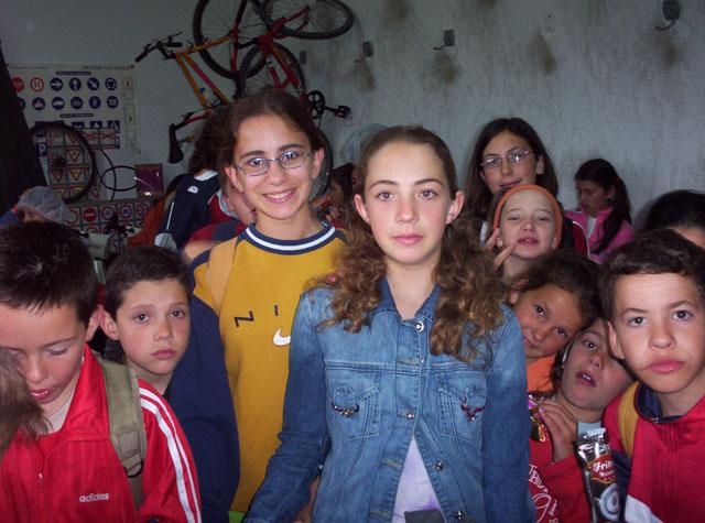 LOS COLEGIOS DE El CHIRIVEL Y DE MARIA DE LA VECINA PROVINCIA DE ALMERIA, PRACTICAN SEGURIDAD VIAL EN EL PARQUE DE EDUCACION VIAL DE TOTANA - 24