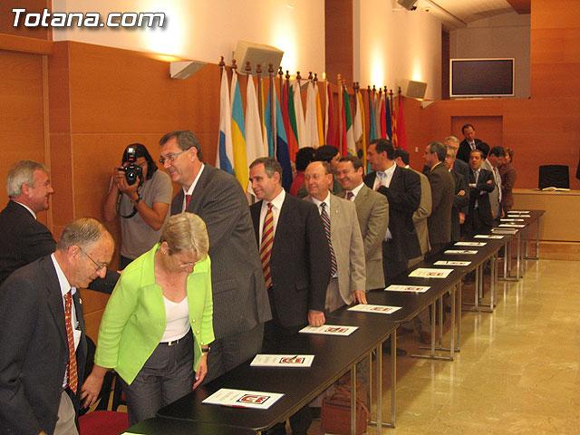 EL PRESIDENTE VALCÁRCEL FIRMA CON LOS 45 AYUNTAMIENTOS DE LA REGIÓN LOS CONVENIOS DE SEGURIDAD CIUDADANA - 4