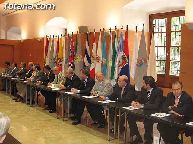 EL PRESIDENTE VALCÁRCEL FIRMA CON LOS 45 AYUNTAMIENTOS DE LA REGIÓN LOS CONVENIOS DE SEGURIDAD CIUDADANA - 29