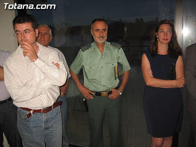 AUTORIDADES LOCALES INAUGURAN UNA GALER�A DE TIRO DE ARMAS NEUM�TICAS EN LOS S�TANOS DE LA PISCINA MUNICIPAL CUBIERTA - 15