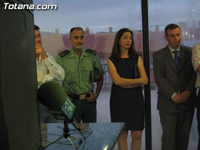 AUTORIDADES LOCALES INAUGURAN UNA GALER�A DE TIRO DE ARMAS NEUM�TICAS EN LOS S�TANOS DE LA PISCINA MUNICIPAL CUBIERTA - 24