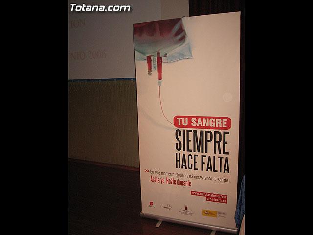 EL CENTRO REGIONAL DE HEMODONACIÓN Y EL AYUNTAMIENTO DE TOTANA TRIBUTAN UN HOMENAJE A TODOS LOS DONANTES DE SANGRE DEL MUNICIPIO - 3