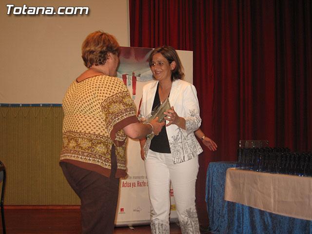 EL CENTRO REGIONAL DE HEMODONACIÓN Y EL AYUNTAMIENTO DE TOTANA TRIBUTAN UN HOMENAJE A TODOS LOS DONANTES DE SANGRE DEL MUNICIPIO - 14