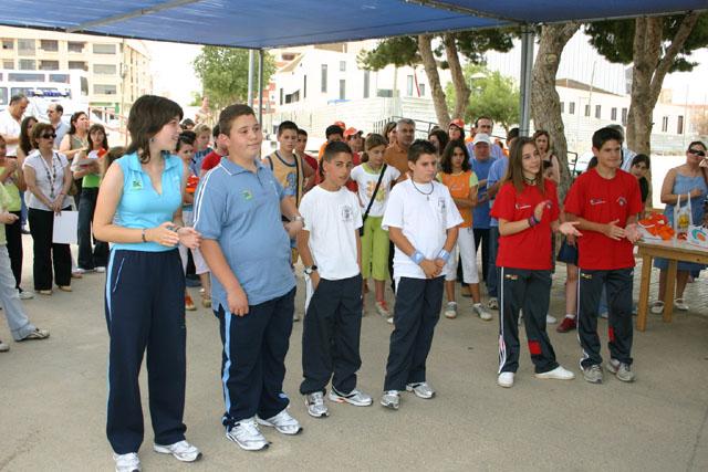 LOS ALUMNOS DEL EQUIPO DE EDUCACI�N VIAL DE TOTANA SON HOMENAJEADOS EN LA CLAUSURA DEL CURSO EN TORRE PACHECO - 4