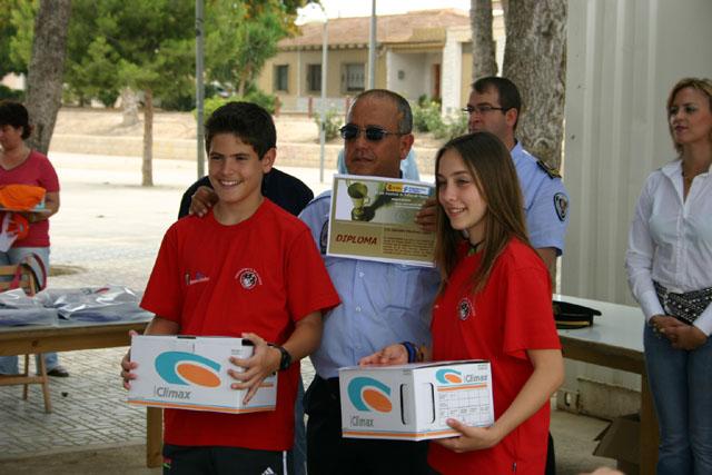 LOS ALUMNOS DEL EQUIPO DE EDUCACI�N VIAL DE TOTANA SON HOMENAJEADOS EN LA CLAUSURA DEL CURSO EN TORRE PACHECO - 6