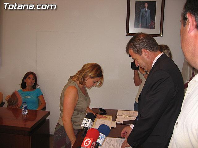 TOMAN POSESI�N CUATRO NUEVAS PROFESORAS DE EDUCACI�N INFANTIL COMO FUNCIONARIOS MUNICIPALES - 12
