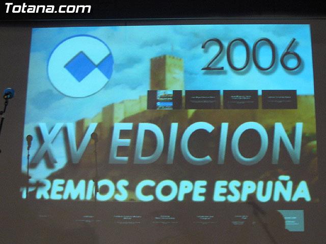 XV EDICION PREMIOS COPE ESPUÑA - 1