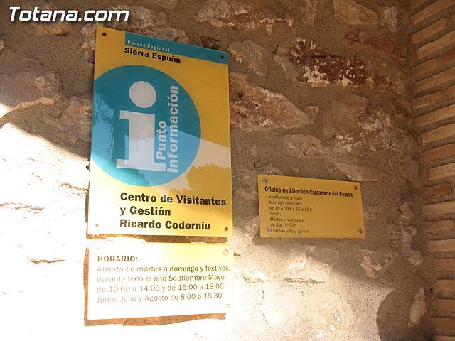 LOS AMANTES DE LA NATURALEZA YA DISPONEN DE NUEVAS RUTAS ACONDICIONADAS EN LOS 11 SENDEROS NATURALES DEL PARQUE REGIONAL SIERRA ESPUÑA - 2