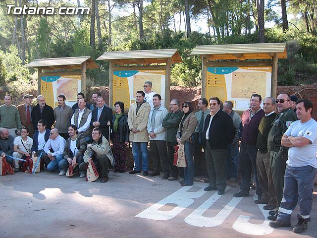 LOS AMANTES DE LA NATURALEZA YA DISPONEN DE NUEVAS RUTAS ACONDICIONADAS EN LOS 11 SENDEROS NATURALES DEL PARQUE REGIONAL SIERRA ESPUÑA - 21