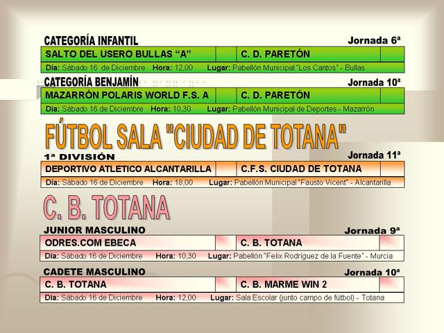 AGENDA DEPORTIVA (14/12/2006) - 6