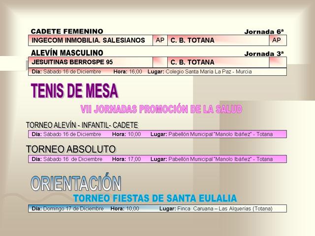 AGENDA DEPORTIVA (14/12/2006) - 7