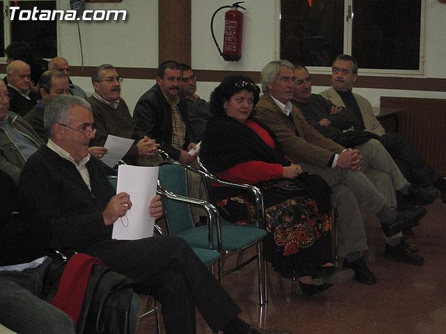 JUAN FRANCISCO OT�LORA TUDELA SER� EL CANDIDATO DEL PSOE A LA ALCALD�A DE TOTANA PARA LAS ELECCIONES DE MAYO DE 2007 - 4